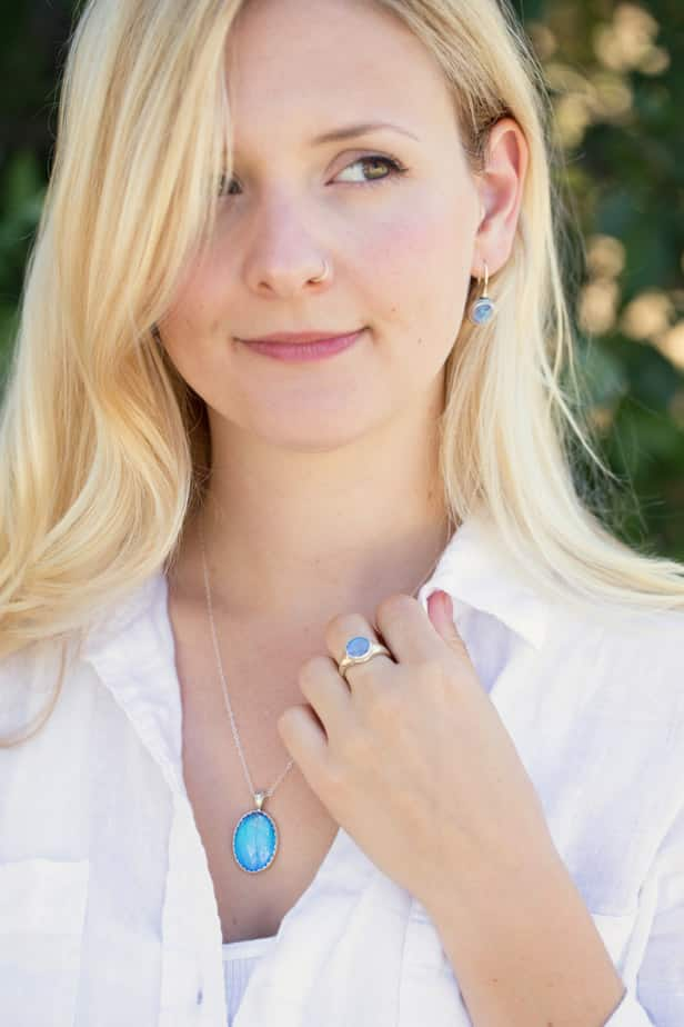 blue morpho jewelry