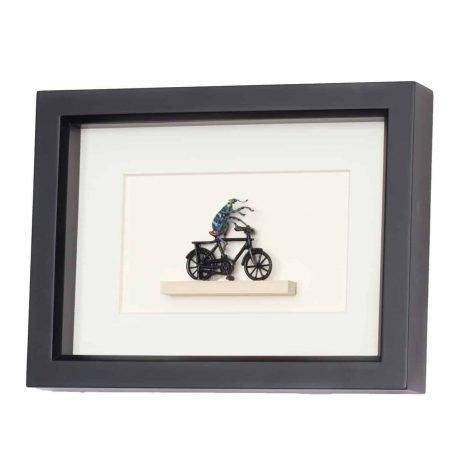 real beetle riding bike