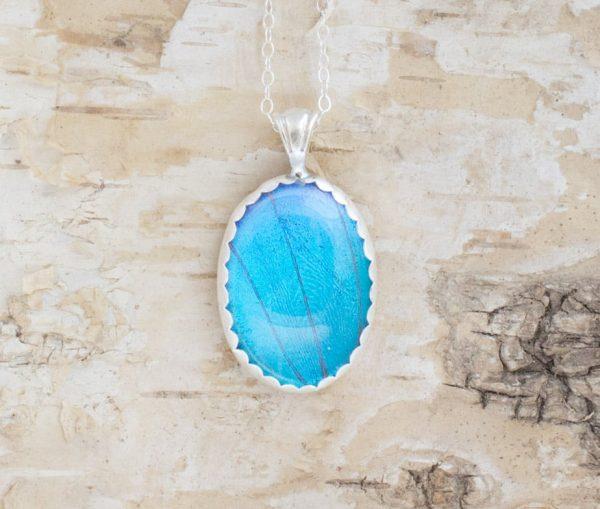 blue morpho butterfly jewelry