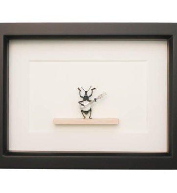 Framed Banjo Beetle