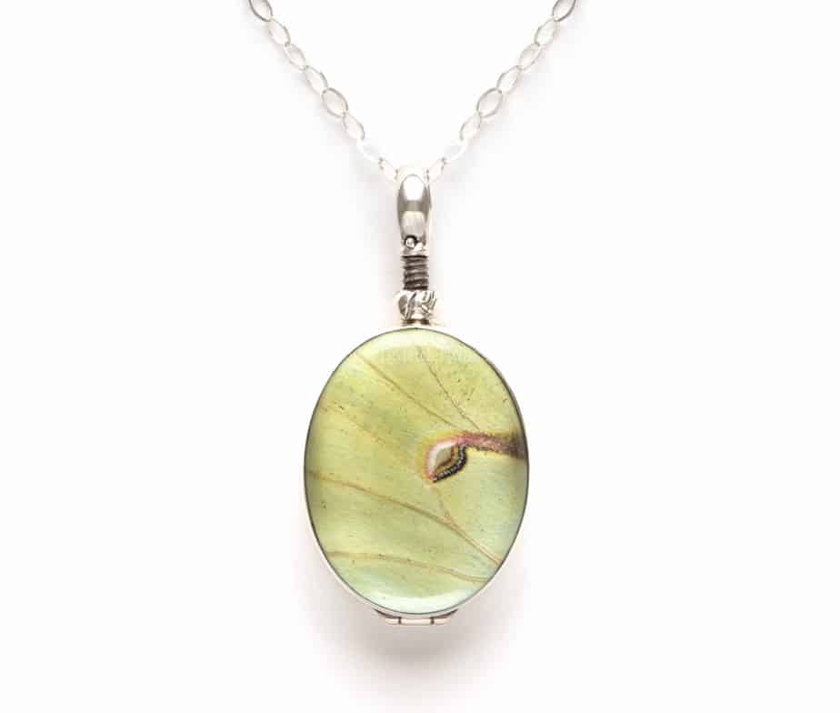 luna moth jewelry