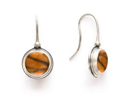 monarch butterfly wing earrings