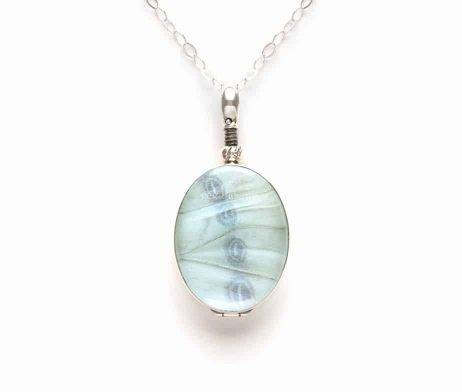 mint morpho butterfly jewelry
