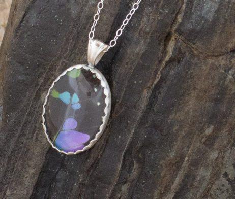 sterling silver butterfly wing jewelry