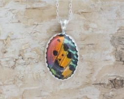 sunset moth necklace