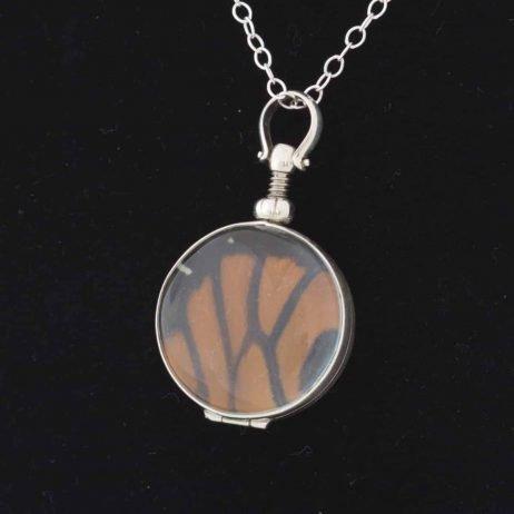 real butterfly wing jewelry monarch butterfly