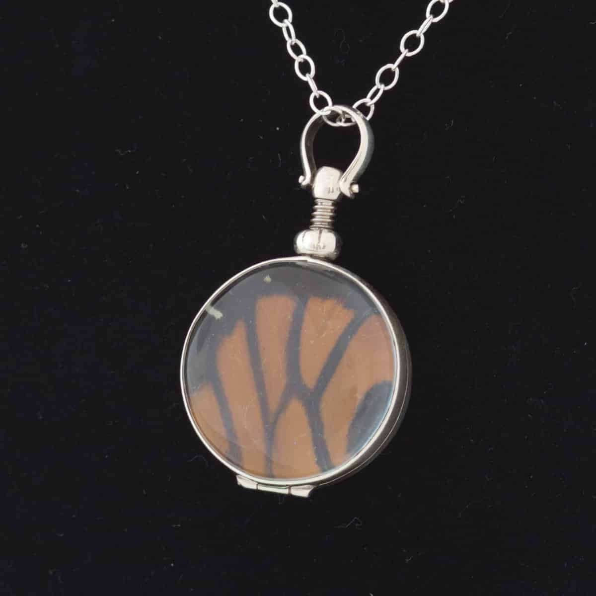 real butterfly wing jewelry monarch butterfly
