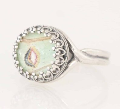 real luna moth ring