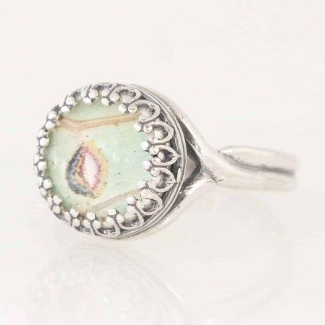 real luna moth ring