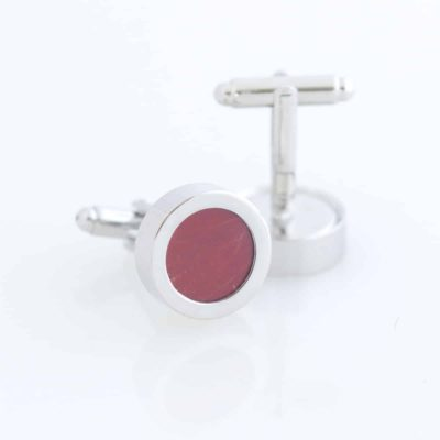 sangria butterfly wing cufflinks