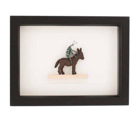 beetle riding donkey