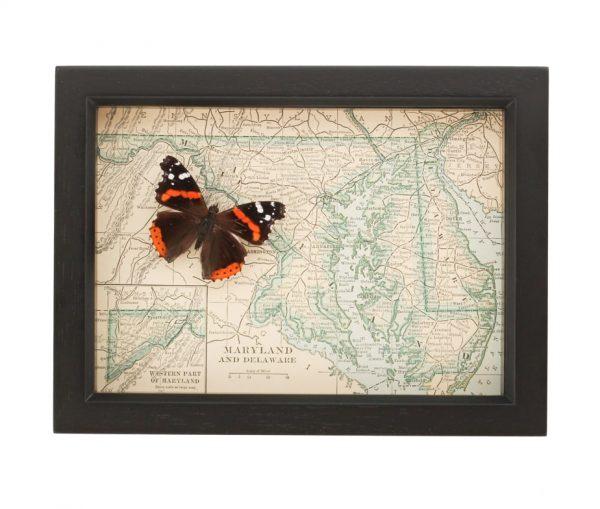 antique map maryland