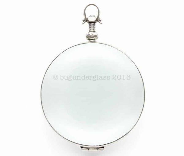 large round photo locket