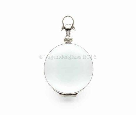 round glass photo locket