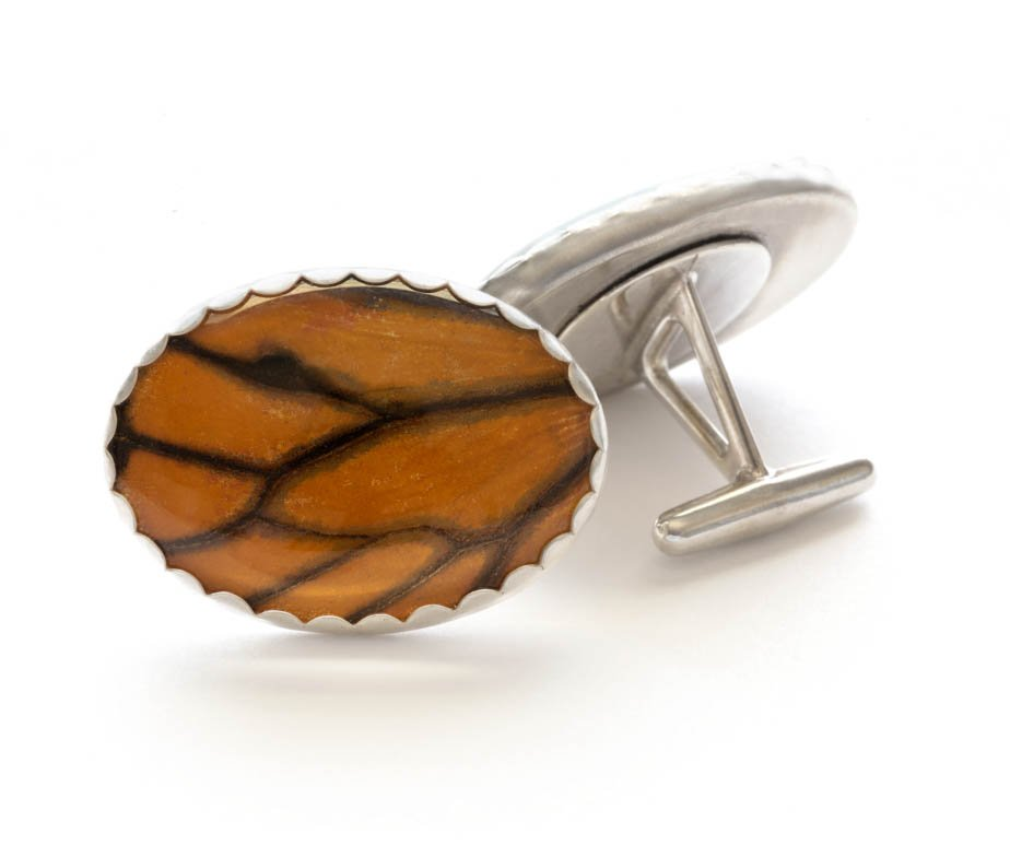 monarch butterfly cuff links
