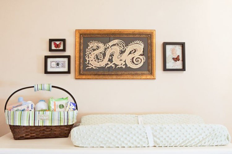 butterfly decor nursery